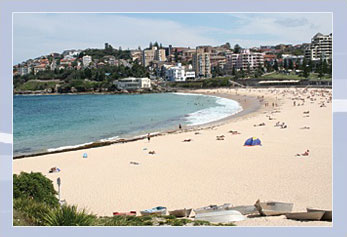 View of Coogee Beach.